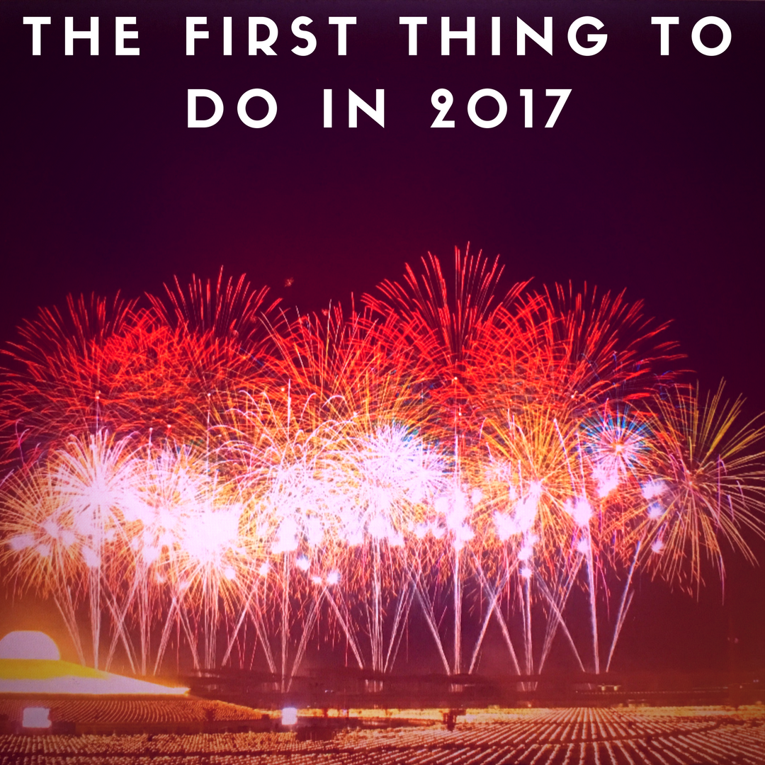 The Fisrt Thing to do on January 1st