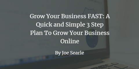 Grow Your Business FAST: A Quick and Simple 3 Step Plan To Grow Your Business Online