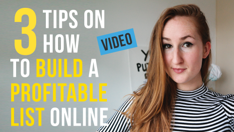 3 Tips On How To Build A Profitable List Vlog
