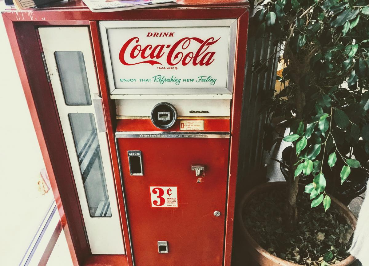 Change is inevitable... except from vending machines