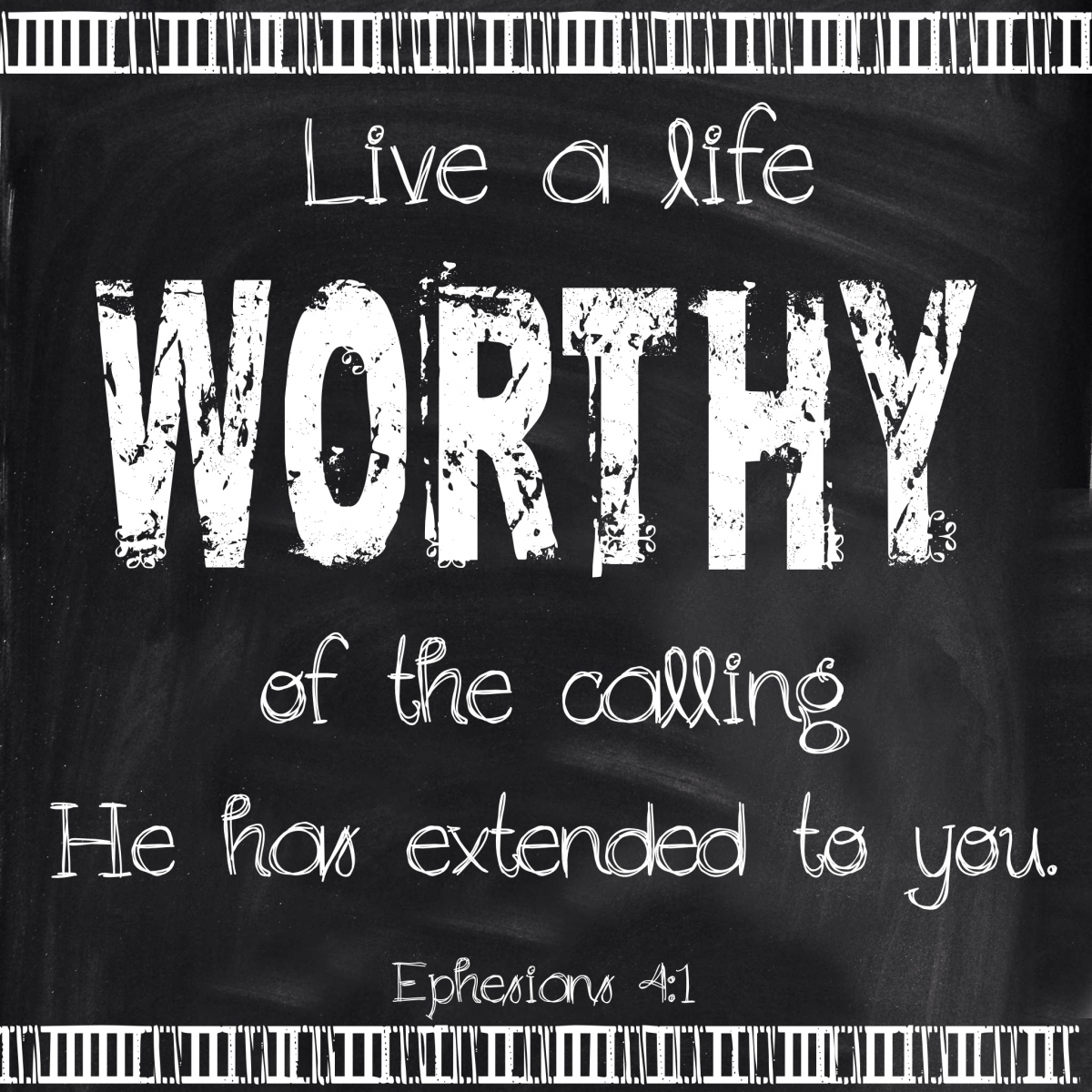 Freedom To Live A Life Worthy Of Your Calling