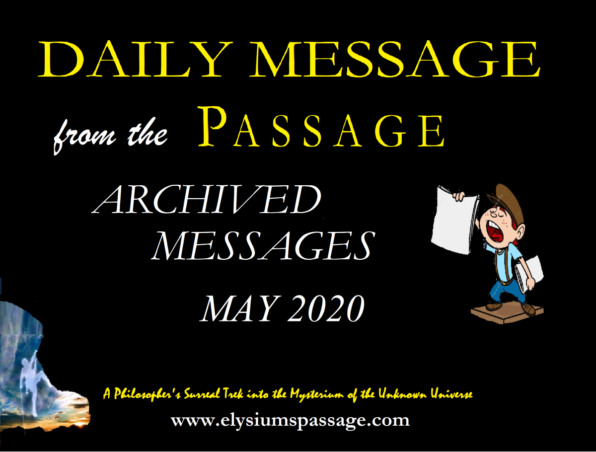 DAILY MESSAGE ARCHIVES MAY 2020