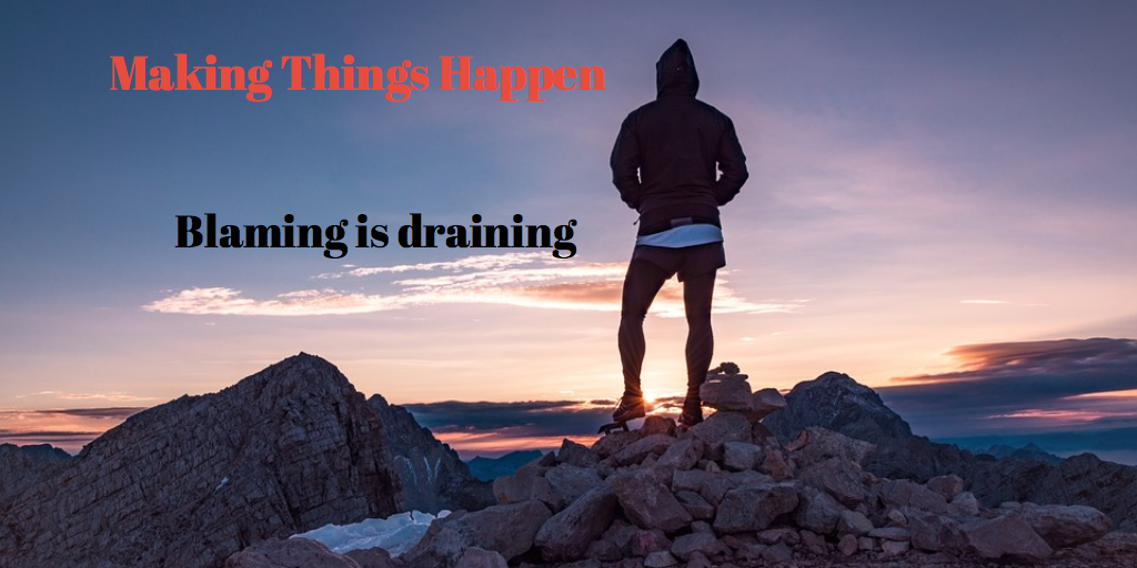 2 things you do to making things happen so you can start achieving
