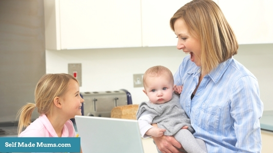10 Tips On How To Work From Home With Children Around!
