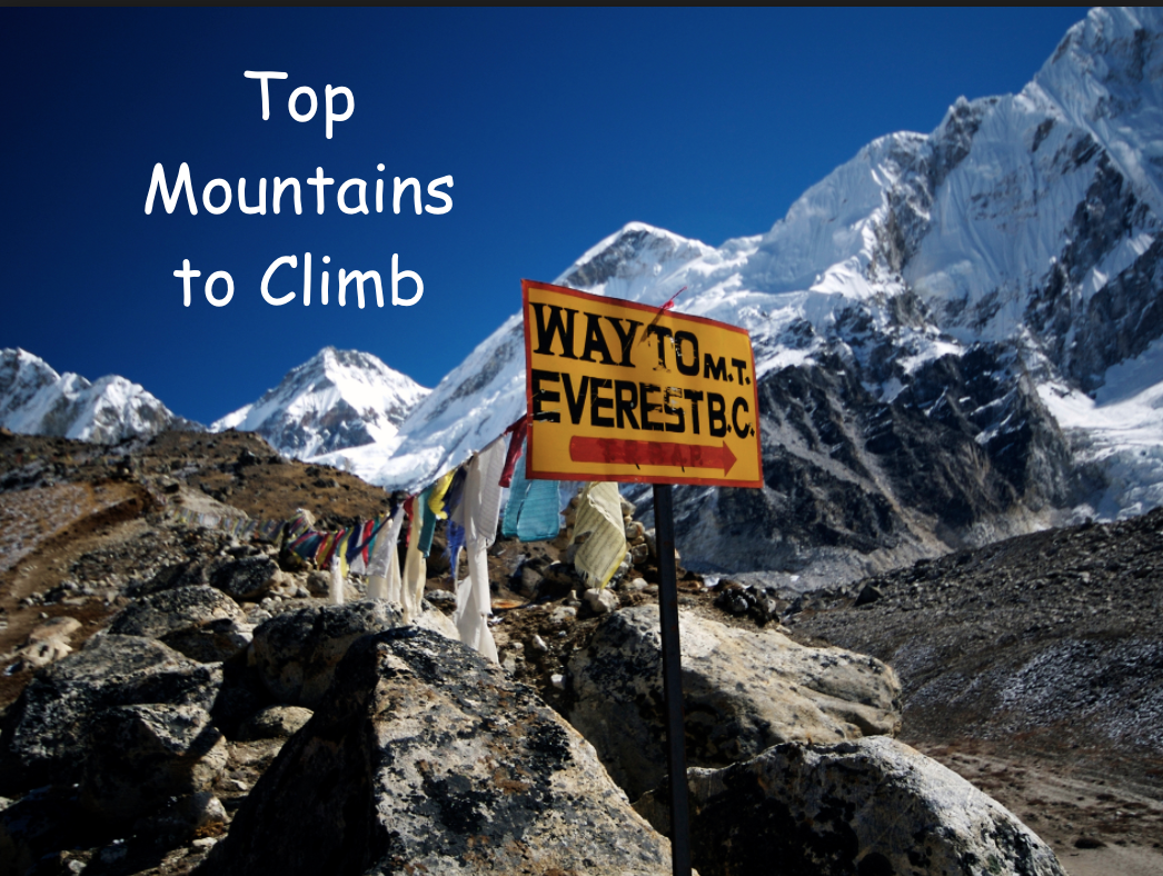 Top Mountains to Climb