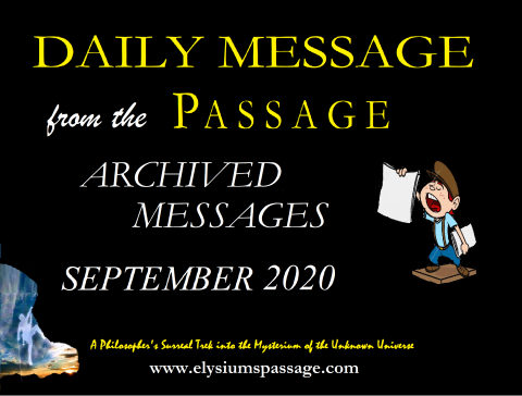 DAILY MESSAGE ARCHIVES SEPTEMBER 2020