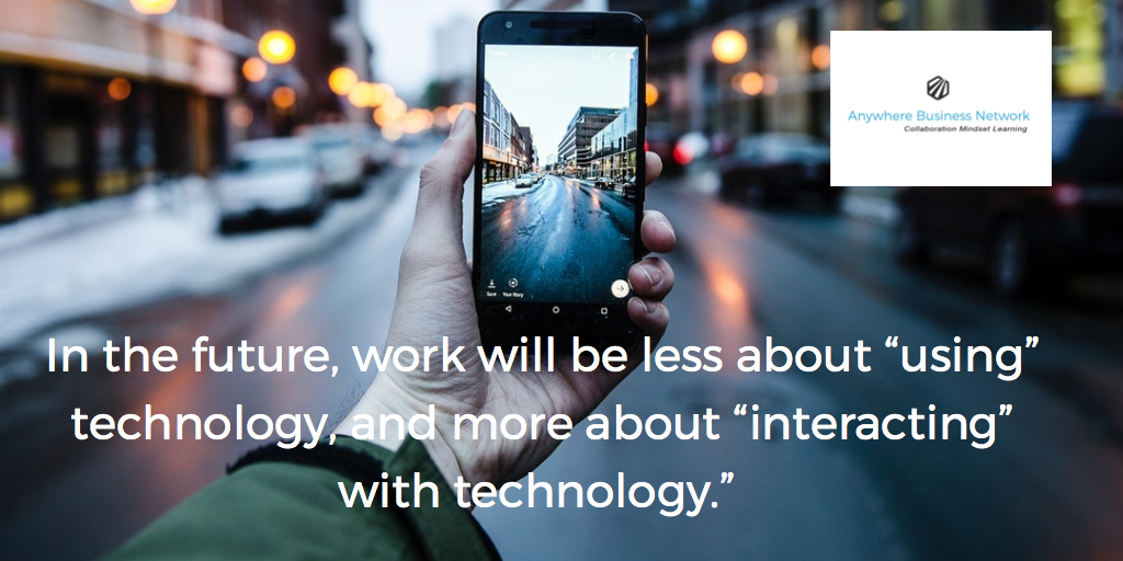 The way we work is changing- are you?