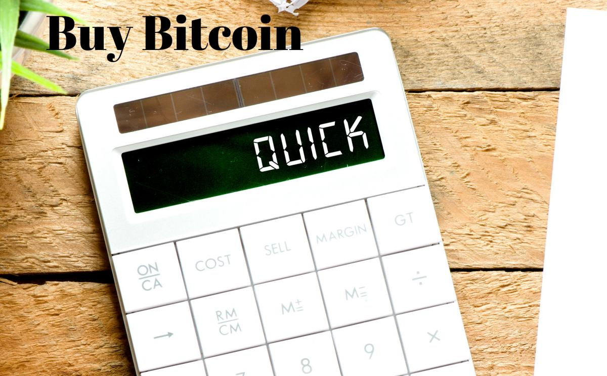 4 Ways of buying Bitcoin very fast