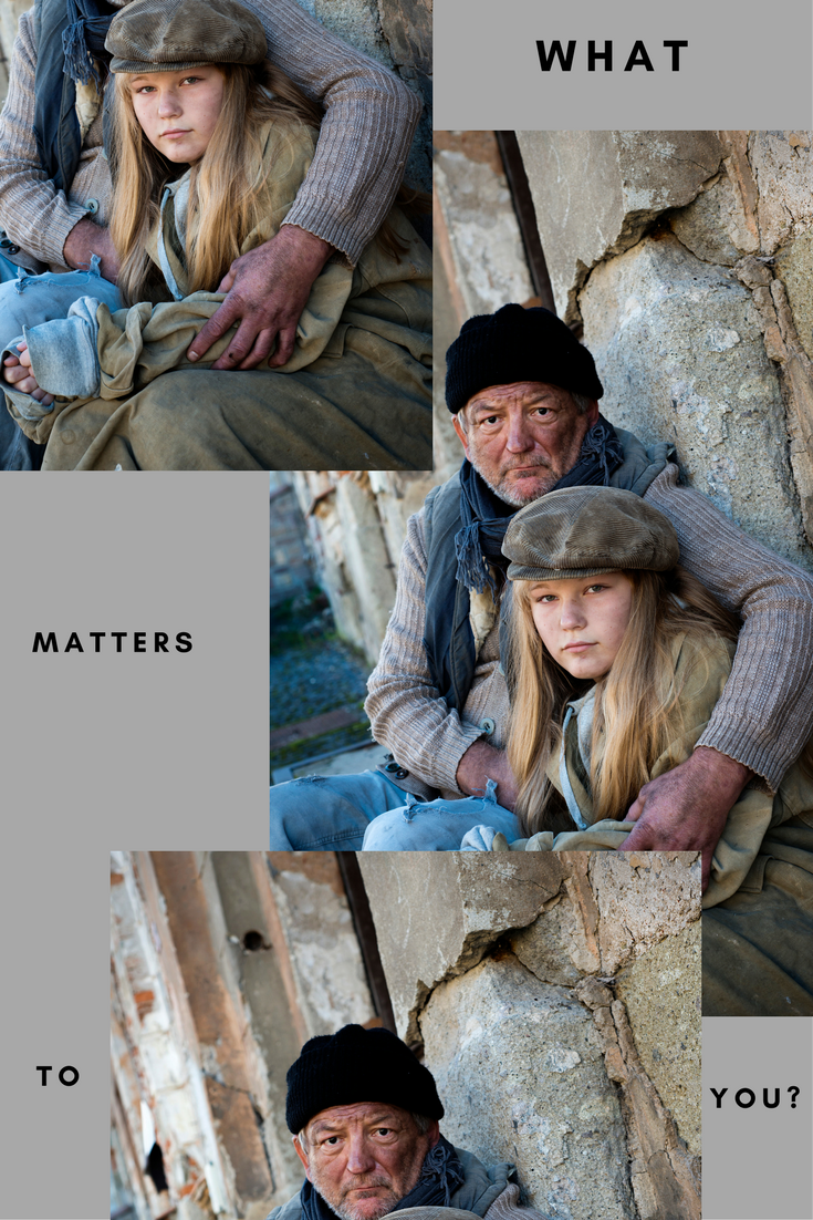 Ready to start a business or work from home?  Consider this:  What matters to you?  I mean really matters.  Just to you.