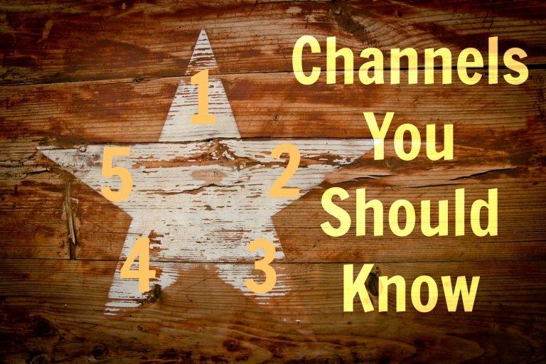 5 Online Marketing Channels You ShouldKnowWhen Startingan OnlineMarketing Business