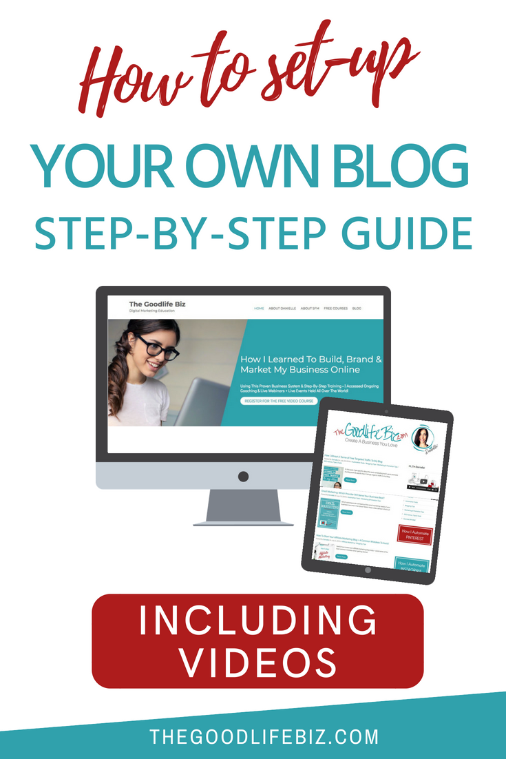 How To Set-up A Blog on WordPress - Step-by-Step Guide + Video