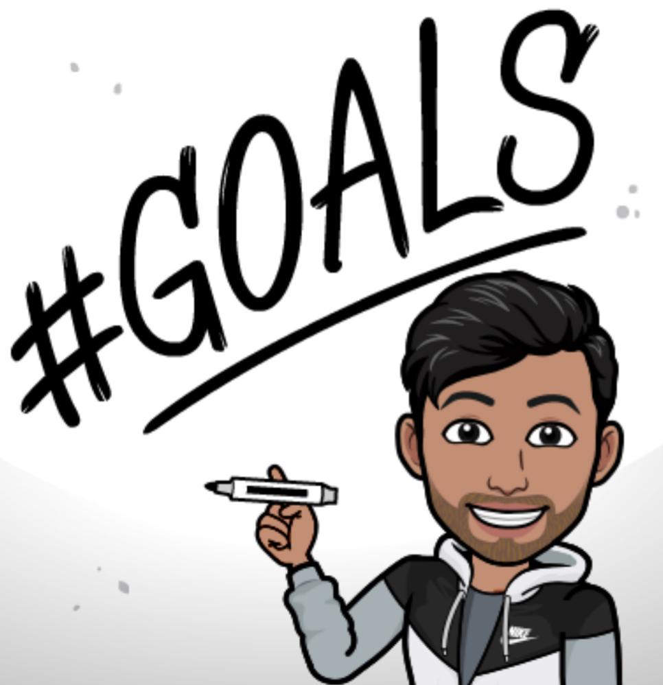 Goal setting in training