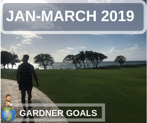 90 Day Goal Challenge. Jan-March 2019