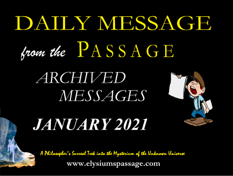 DAILY MESSAGE ARCHIVES JANUARY 2021