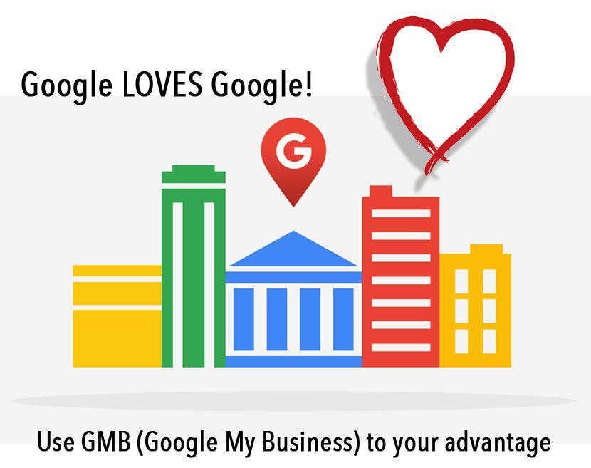 Google LOVES themselves some....Google!