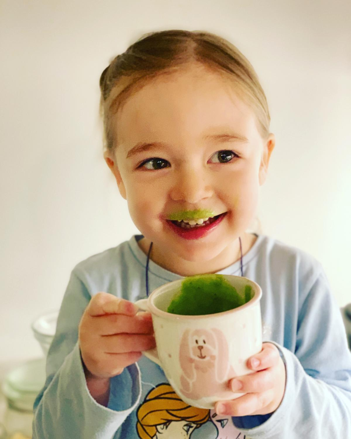 How to make your kids drink their greens?