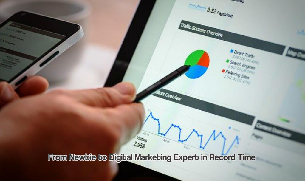 From Newbie to Digital Marketing Expert in Record Time