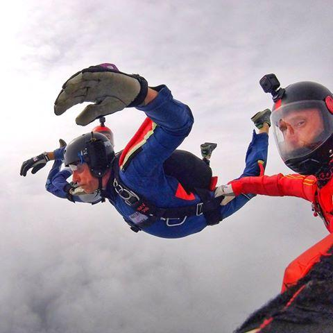 Bliss and fear...learning how to skydive.