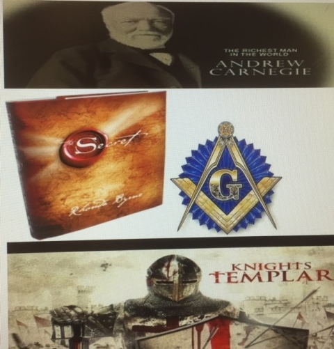 The Secret, Freemasons, Knights Templar, and the Richest man in the world