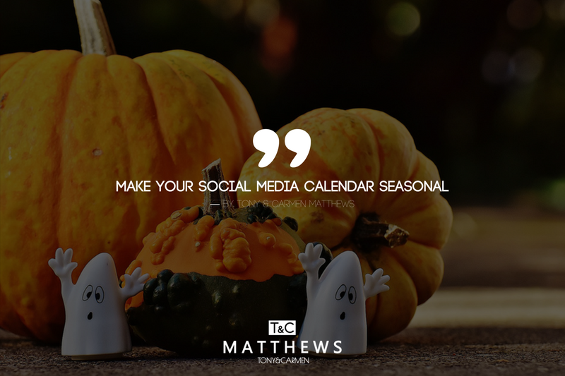 Make your Social Media Calendar Seasonal